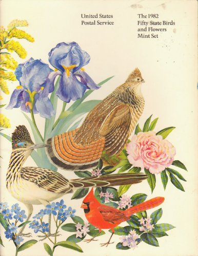 Stamps Flowers Mint - The 1982 Fifty State Birds and Flowers Mint Set (U.S. Postal Service, Stamp Collecting)