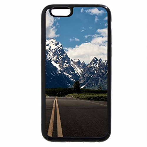 iPhone 6S / iPhone 6 Case (Black) Beautiful Road View