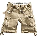 DELTA Division Vintage Herren Cargo Shorts