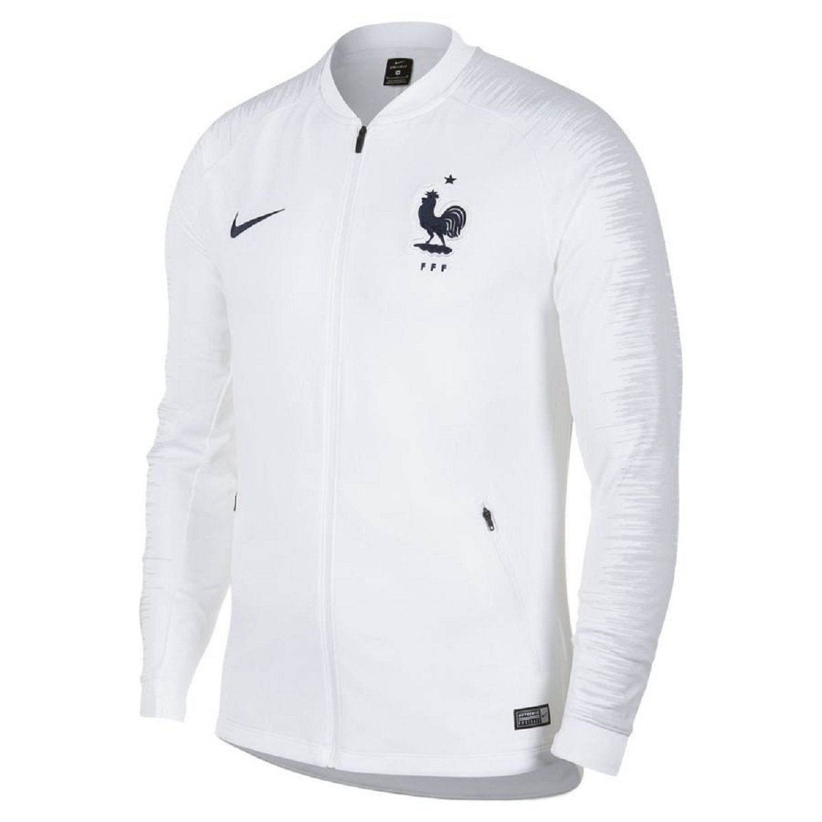 2018-2019 France Nike Anthem Jacket (White) B07C7RR76Q Medium 38-40
