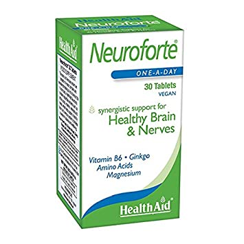 Health Aid NeuroForte (Amino Acid, B Vitamin Complex) 30 Tablets