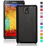 INVELLOP Black Leatherette case cover for Samsung Galaxy Note 3 Note III