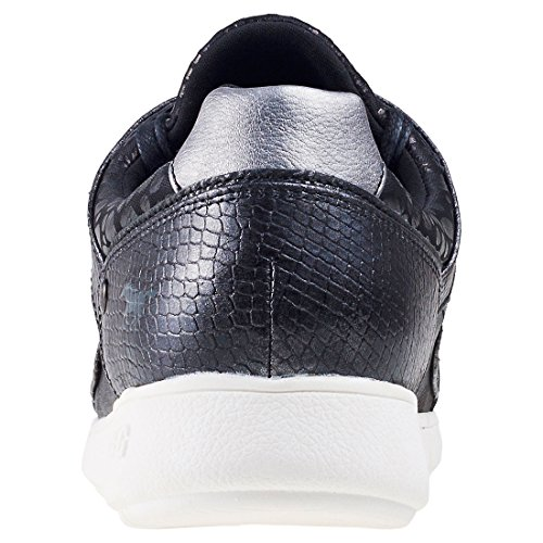 Femmes Studs Top Baskets Metallic Mustang Low pnUwHO