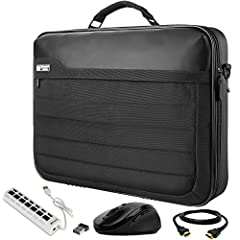 The VanGoddy Trovo is a Nylon briefcase inspired by the modern world and driven by the executive class. The exterior features a tightly woven Nylon protecting your contents within, the frontal exterior features a zippered pocket perfect for q...