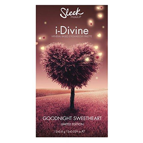 Sleek Makeup Goodnight Sweetheart I-Divine Eyeshadow Palette Limited Edition, 1er Pack (12 x 0,8 g)