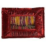 Glitter Collection Bangle box, make up kit, bridal set, wedding gift, make up box BANG010