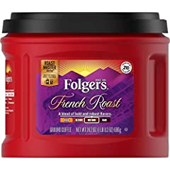 A select line of exceptional coffee blends carefully crafted by our experienced Roast Masters. Folgers French Roast delivers bold and robust flavor that's crafted with care. Discover the unique depths of Folgers in every cup.