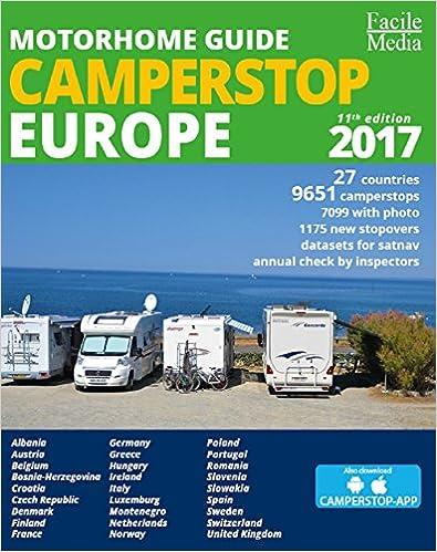 Je commande ce guide des aires de camping-cars Europe 2017