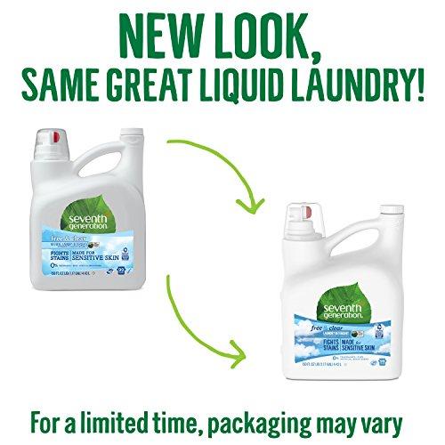 Seventh Generation Detergent, 150 99 Loads