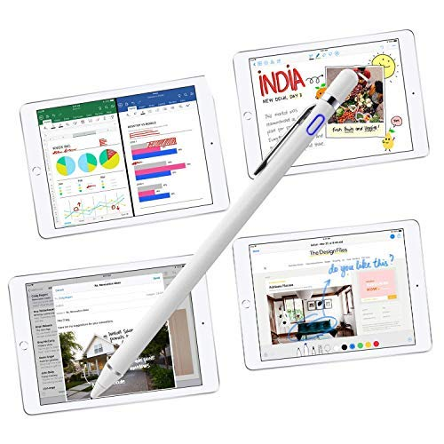 Stylus Pens for Touch Screens, Fine Point Active Smart Digital Pencil Compatible iPad and Most Tablet by Milemont