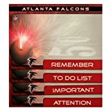 Turner Atlanta Falcons Magnetic To Do Notes, 4 Pack