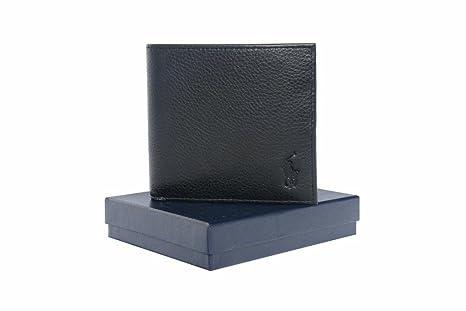 af6f20cf73 Ralph Lauren AW636 Billfold Portafoglio da uomo in pelle con portamonete,  colore: nero