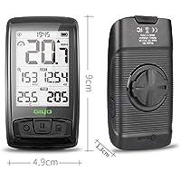 Guanyunxiu Suministros de Ciclismo, Códigos de Bicicleta, M4 Bluetooth Wireless Road Bicicleta Velocímetro, Odómetro, Retroiluminación Impermeable Batería Recargable incorporada