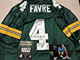 Brett Favre Autographed Signed Green Bay Packers Authentic Jersey MULTI INSCRIBED Comes With Favre Hologram And COA With Photo From Signing