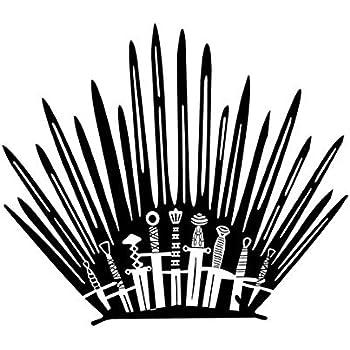 7bdd20b1035c Amazon.com: Game of Throne Parody Inspired Toilet Decal Iron Throne ...