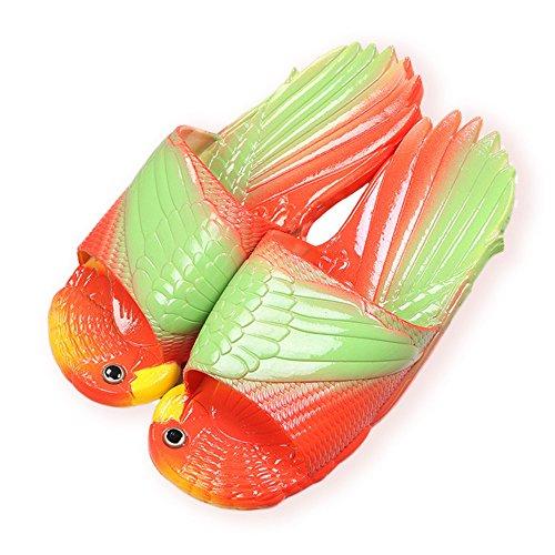 Chicken Feet Slippers (Bird Animal Slippers Summer Beach Sandals Shower Slippers Non-Slip Beach Shoes Wear for Women Child Baby Casual Shoe ... (10-11 Little Child US,)