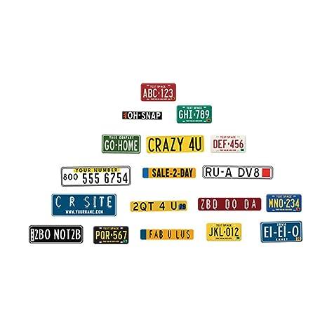 Lorjoyx Cartel del Anuncio de la Pared del PVC Etiqueta de ...