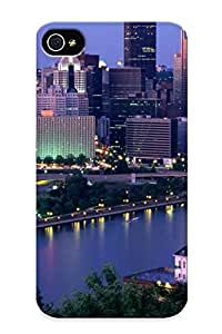 Ellent Design Pittsburgh Phone Case For Iphone 4/4s Premium Tpu Case For Thanksgiving Day's Gift