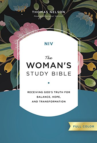 NIV, The Woman's Study Bible, Hardcover, Full-Color: Receiving God's Truth for Balance, Hope, and Transformation
