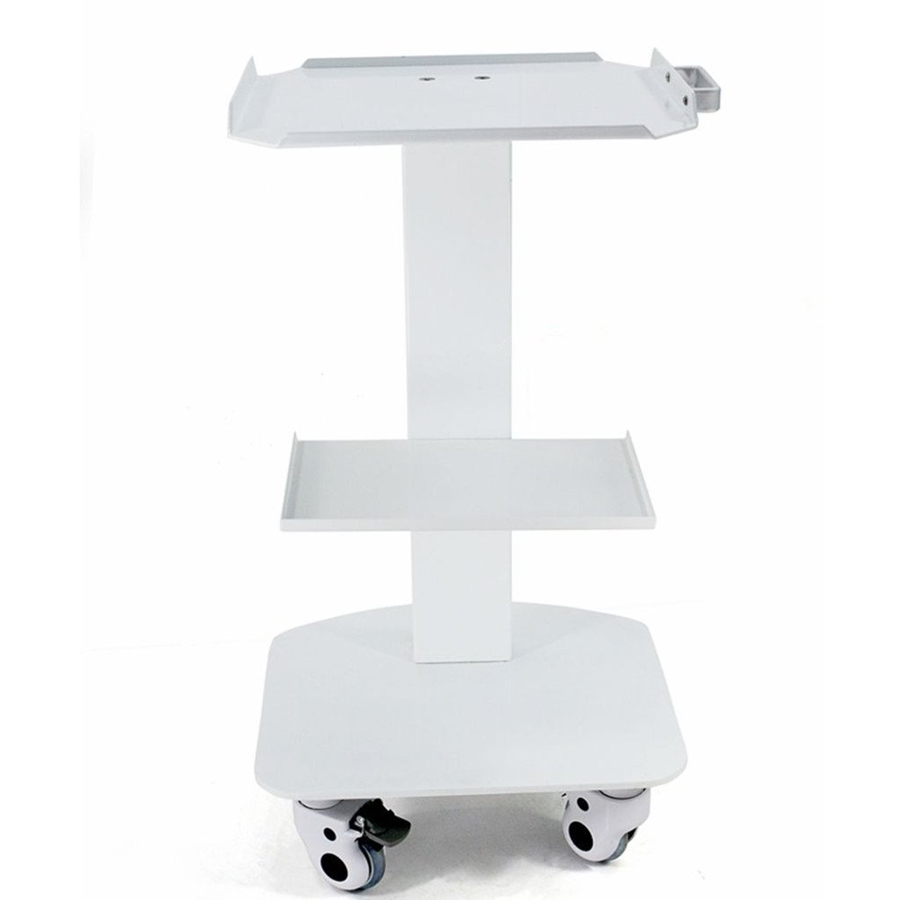 SoHome Medical Steel Cart Iron Paint Trolley Doctor Trolley for Spa Salon XNE-01