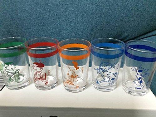 サザエさん展 長谷川町子 グラス 5種セット
