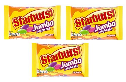 Starburst Jumbo Jellybeans 12oz Package (3 - Jelly Jumbo