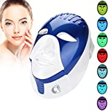 7 Colors Photon LED Mask, Beauty Light Therapy Face Mask with 168LEDs