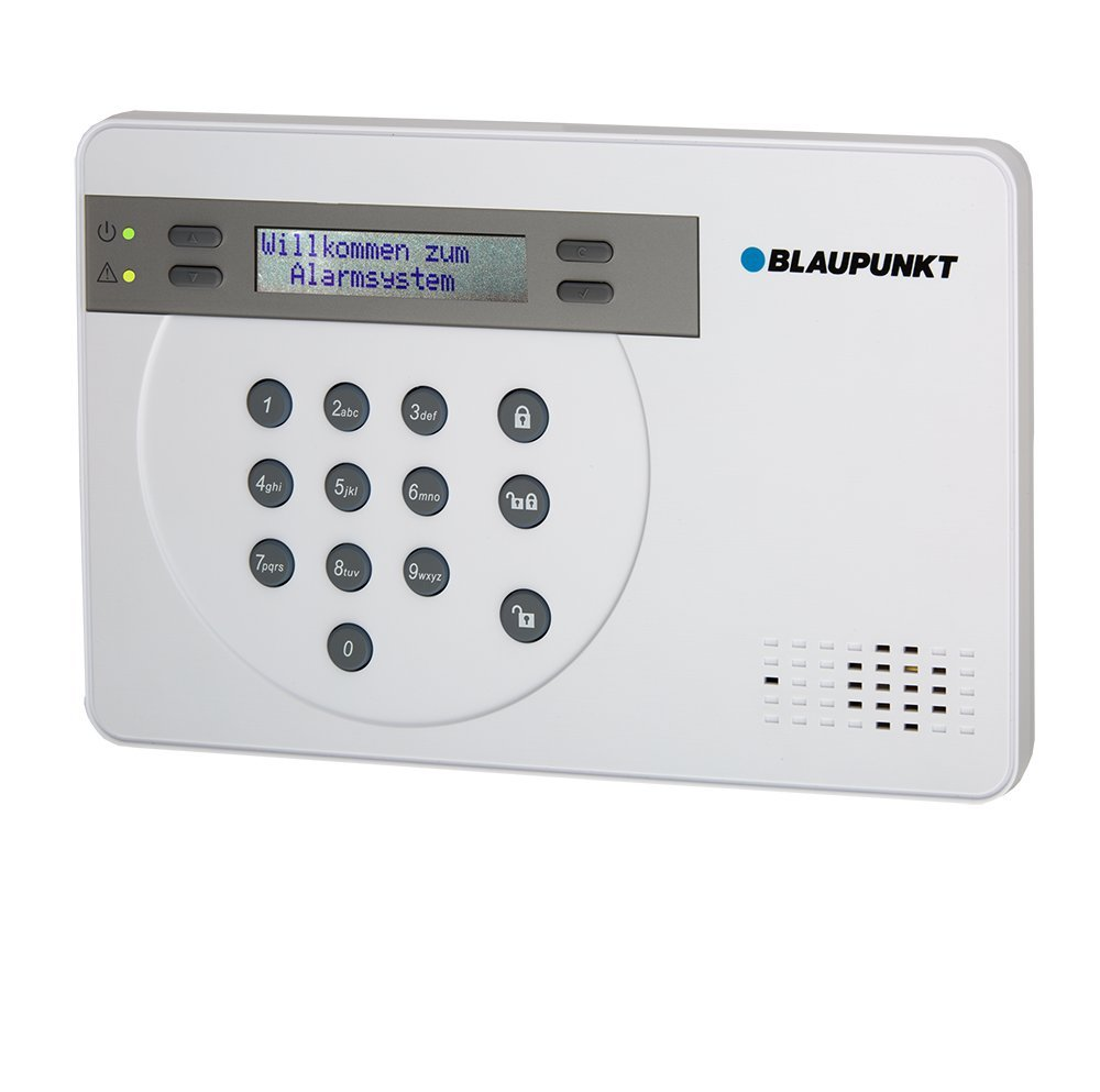 Blaupunkt - SA 2700 - Kit alarma de seguridad. transmisión via GSM 100% analámbrica, App Gratuita Connect2Home.