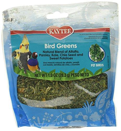 (4 Pack) Kaytee Forti Diet Prohealth Bird Greens Chia Sweet Potato 1 Ounce each by Kaytee