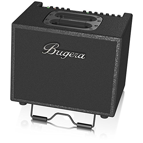 BUGERA AC60 Portable 60-Watt 2-Channel Acoustic Instrument Amplifier with Original Turbosound Speaker Black
