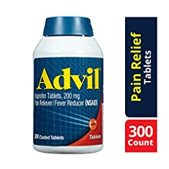 Advil Coated Tablets Pain Reliever and F...