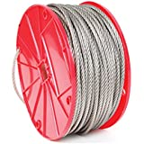 Koch Industries 7 x 7 Stainless Steel Cable, 3/32-inch by 500-feet, Roll