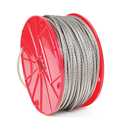 Koch Industries 7 x 7 Stainless Steel Cable, 3/32-inch by 500-feet, Roll by Koch Industries