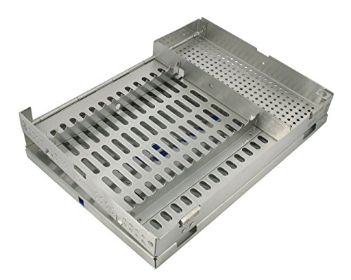 "Dental USA 7512 Surgical Cassettes Fifteen Hold Wi Acc Rack 8""L x 11""W x 1 ¼ D by Dental USA"