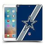 Official NFL Stripes Dallas Cowboys Logo Hard Back Case for iPad 9.7 2017 / iPad 9.7 2018