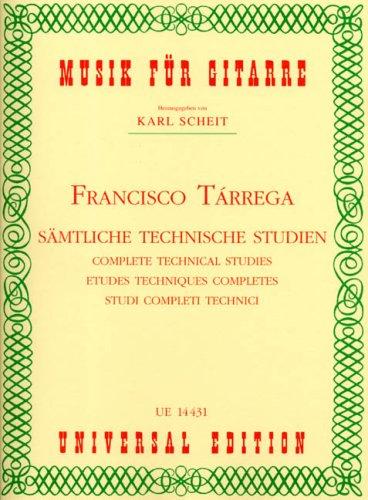 Saemtliche Technische Studien. Gitarre