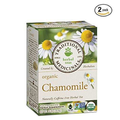 Traditional Medicinals - Organic Chamomile, 16 Bag (2 Pack)