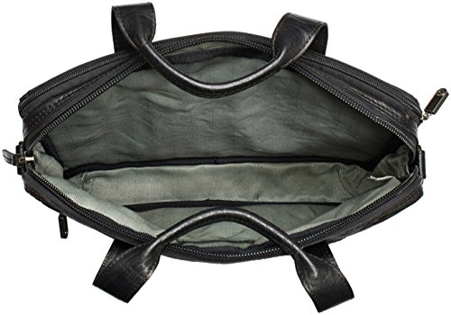 Spikes & Sparrow Bronco - Bolso de hombro Unisex adulto Negro