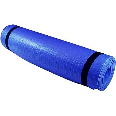 Azorex Esterilla Yoga Espeso Antideslizante Alfombrilla de Yoga Espesor 8/10 mm Esterilla Pilates Esterilla Deporte con Correa de Hombro