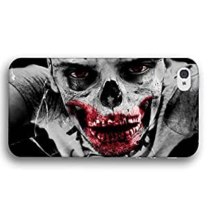 Halloween Scary Zombie Skull For SamSung Galaxy S4 Case Cover Slim Phone Case