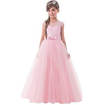 6da62623c51d9 子供ドレス Hosam お花柄 ロングドレス ガールズ フォーマル キッズドレス ワンピース 女の子 女児 ールリボン飾り