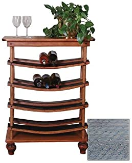 product image for 2 Day Designs Wine Stave Display
