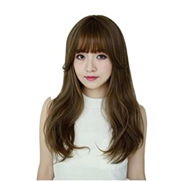 Amazon Com Bestlee 24 Inch Korean Style Synthetic Hair Natural