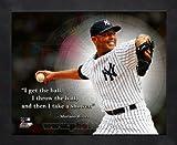 Mariano Rivera New York Yankees Pro Quotes Framed 8x10 Photo #1