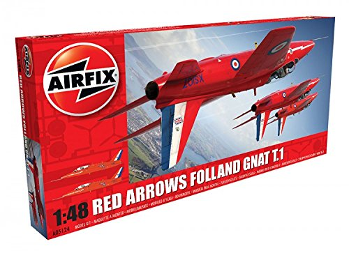 Airfix Red Arrows Gnat 1:48 Plastic Model -