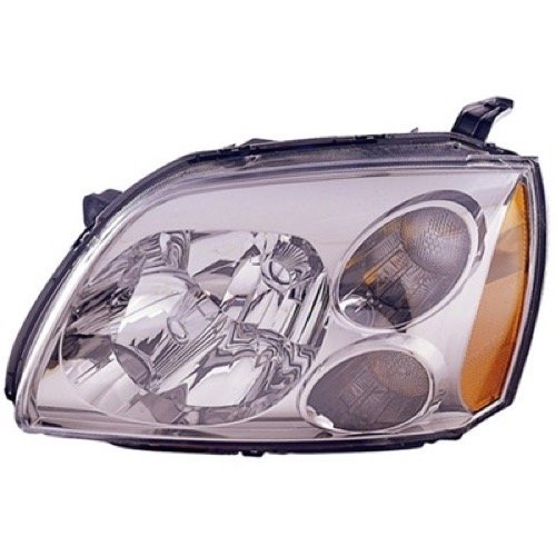 » Compatible 2005-2007 Mitsubishi Galant Front Headlight Assembly Housing/Lens/Cover - Left (Driver) Side - (SE) MR991161 MI2502127 Replacement For Mitsubishi ()