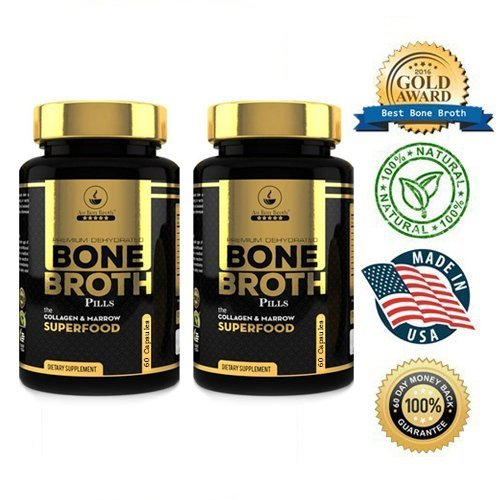 Bone Broth Protein Superfood Capsules product image