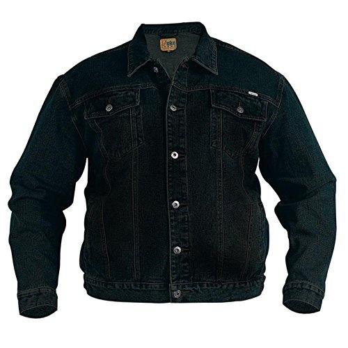 London Western Duke Alti Da nbsp;– Black King Stonewash Size Grande Giacche Uomo nbsp;denim xHff0BE