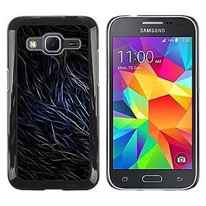 iKiki Tech / Estuche rígido - Abstract Fur Lines - Samsung Galaxy Core Prime SM-G360