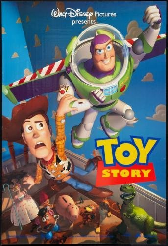 Toy Story 1 Movie Poster #02 11x17 Master Print